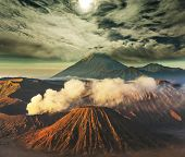 foto of bromo  - Bromo Volcano at  Java - JPG