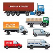 Delivery And Shipment Service Cars