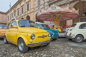 Vintage Italian Car Fiat 500 Abarth