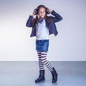 Fashionable Teenager Girl