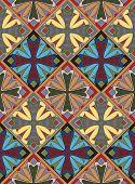 Medieval Cross Tile Pattern