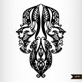 Zodiac signs black and white - Gemini