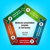 Pentagon presentation template