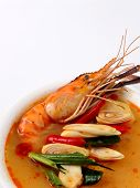 Tom Yam Kung. Spicy Shrimp Soup poster