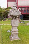 Stone Lantern In Seoul Museum Of History, Korea