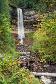 Munising Falls At Pictured Rocks