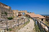 image of swabian  - Swabian Castle of Rocca Imperiale - JPG