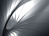 Luxury elegance abstract metal background 3d illustration