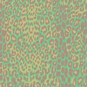 Green jaguar spotted background.