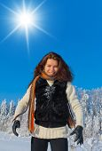 Midwinter Sunshine Outdoor Season Fashion