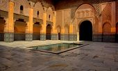 Historic Landmark Of Ben Youssef Madrasa