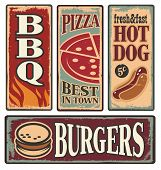 ������, ������: Food Tin Signs