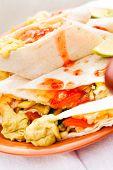 foto of tacos  - chicken tacos - JPG