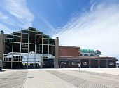 The Old Casino At Beach In Asbury Park