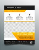picture of prospectus  - Multipurpose business flyer template  - JPG
