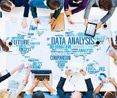pic of comparison  - Data Analysis Analytics Comparison Information Networking Concept - JPG