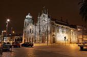 Igreja do Carmo à noite, Porto