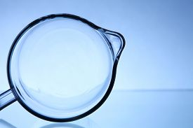 picture of nipples  - abstract shot of the glass jar shape like woman nipple - JPG