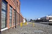 Warehouse and Railroad Tracks