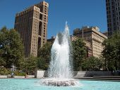 Fountain In Philadelphia