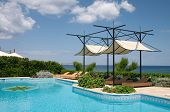 Swimming Pool And Sunshade