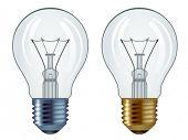 bulbos de Vector aislados