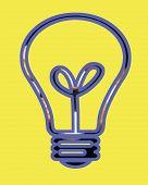 Bulb Symbol poster