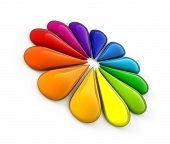 image of color wheel  - Color wheel - JPG