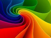 stock photo of color  - 3d colorful background - JPG