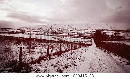 Pendle Hill Lancashire England The