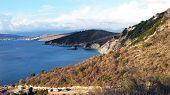 Rocky Shore Next To Ksamil, Saranda, Albanian Riviera, Beautiful Seascape poster