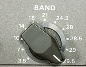 Frequency Band Selector Knob