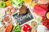 Fodmap Healthy Diet Food poster