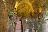 Interior walls of medieval Blarney Castle - Ireland