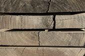 Wooden Boards, Wooden Boards, Stacked Wooden Boards, Natural Wood Board poster