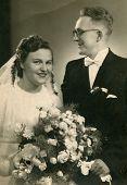 Vintage wedding photo (1948)