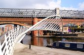pic of flatboat  - Bridgewater Canals in Manchester - JPG