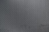 Metal Texture Background Aluminum Brushed Silver. Metal Floor Plate With Diamond Pattern. Grunge Bac poster