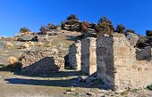 Welshtown Ruins Walls, Central Otago, New Zealand