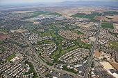 foto of ocotillo  - Ocotillo community and beautiful golf course from above - JPG