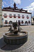 Town Hall In Linz Am Rhein