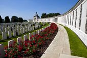 Tyne Cot Friedhof in Ypern
