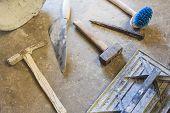 ferramentas de pedreiro
