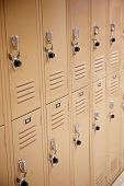 Metal School Lockers With Locks
