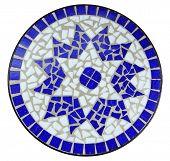 Blue Color Mosaic