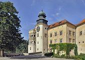 Castle Pieskowa Skala In Poland