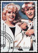 Marilyn Monroe - Guinea Stamp