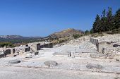 Ancient palace of Phaestos at Crete