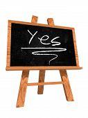 Yes On Blackboard
