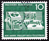Postage stamp Germany 1961 Reis Telephone